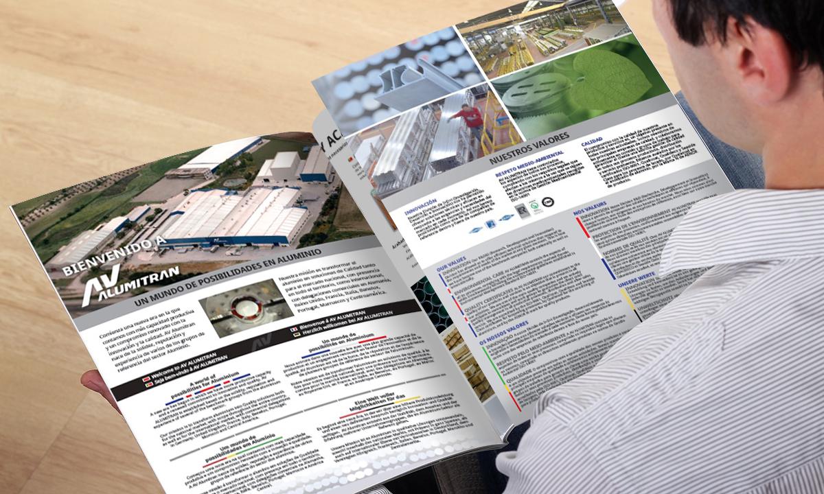 folleto presentacion plegado