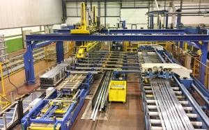 nuevo apilador automatico perfiles aluminio