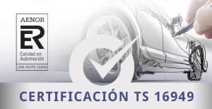 certificación TS16949 para automoción