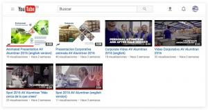 nuevo canal youtube dedicado aluminio