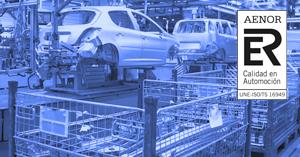 extrusión de aluminio para automoción certificado