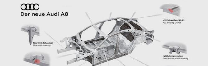 noticia audi A8 aluminio autorevista