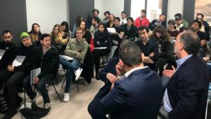 visita estudiantes arquitectura dudas y preguntas