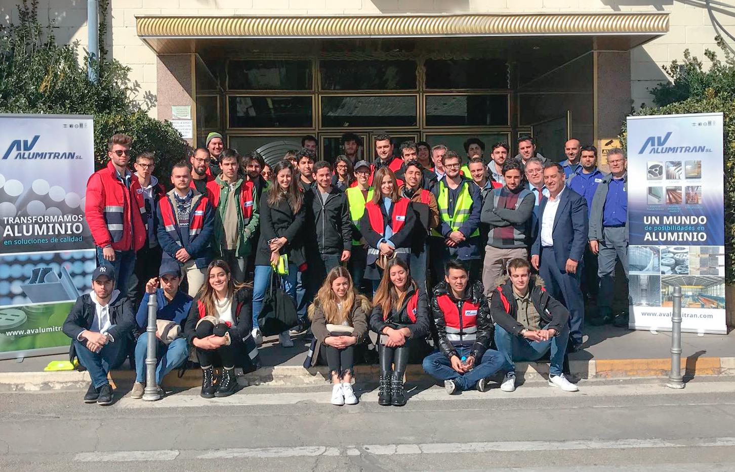 visita universitarios arquitectura Francisco Vitoria
