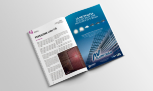 anuncio en revista Aluminio marzo 2018 protección solar