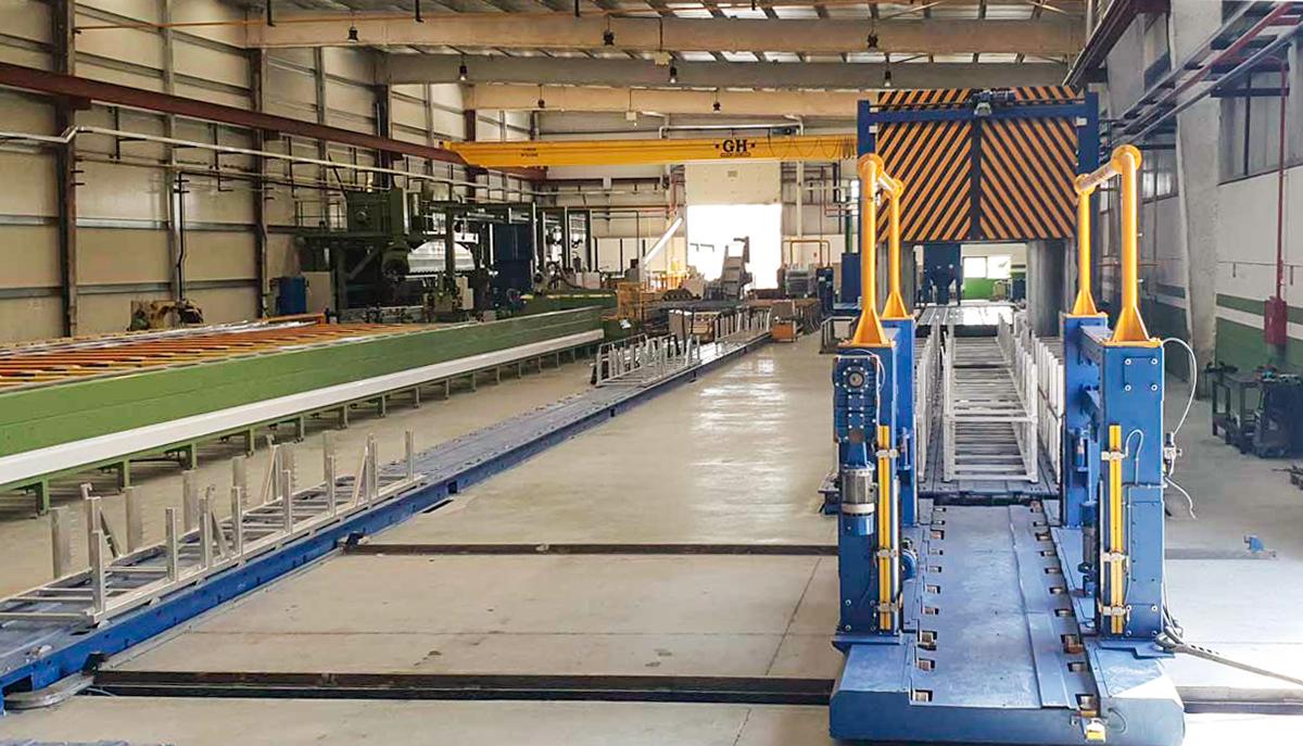 fabrica AV Alumitran Villarejo de Salvanés nueva prensa extrusión