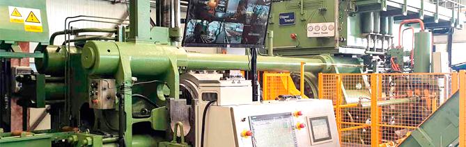 Nueva prensa de extrusión de aluminio AV Alumitran