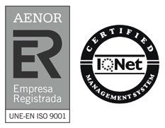 certificados ISO 9001 y IQnet