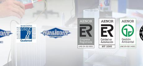 Extrusión de Aluminio de Calidad: conozca nuestras certificaciones