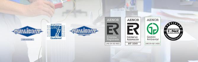 extrusión de aluminio de calidad certificada
