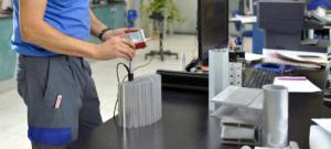 control de calidad en extrusión de aluminio